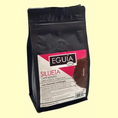 Café Molido 100% Arábica Silueta - 250 gramos - Eguía