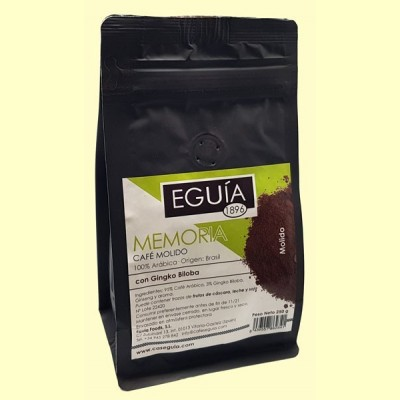 Café Molido 100% Arábica Memoria - 250 gramos - Eguía