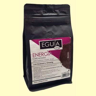 Café Molido 100% Arábica Energía - 250 gramos - Eguía