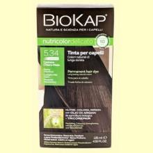 Tinte Delicato Rapid 5.34 Castaño Miel Claro - 140 ml - Biokap
