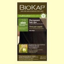 Tinte Delicato Rapid 2.9 Castaño Oscuro Chocolate - 140 ml - Biokap