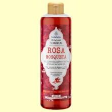 Gel Corporal de Ducha Rosa Mosqueta Supreme - 500 ml - Esential Aroms
