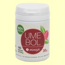 Umebol - Umeboshi y Jinenjo - 140 cápsulas - Mimasa