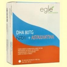 DHA 80 TG NPD1 + Astaxantina - 30 cápsulas - Egle