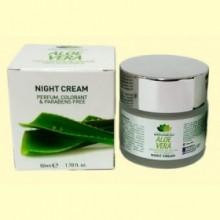 Crema de Noche con Aloe Vera - Lucy Cosmetics - 50 ml - Van Horts