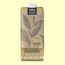 Bebida de Té Verde con Jengibre y Pomelo Bio - 500 ml - D&B