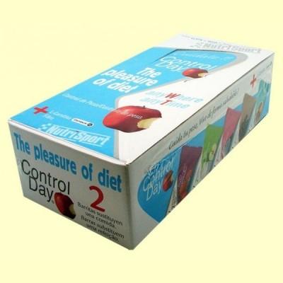 Barrita Control Day Chocolate Brownie - 28 barritas - NutriSport