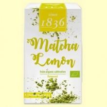 Té Verde en polvo Matcha Limón Bio - 12 bolsitas - D&B