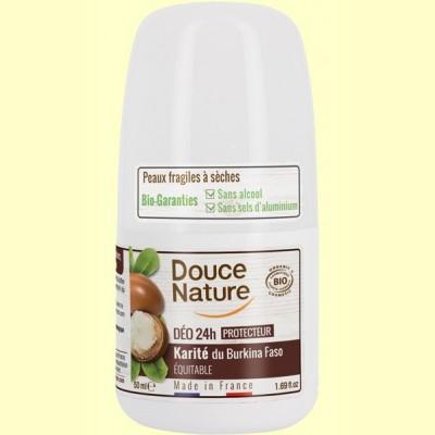 Desodorante Karité Roll On - 50 ml - Douce Nature