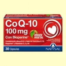 Coenzima Q10 - 30 cápsulas - Natysal