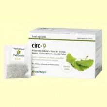 Circ 9 Infusión - Piernas Cansadas - 20 filtros - Herbora