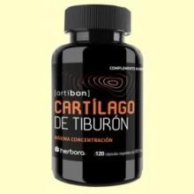 Cartílago de Tiburón - 120 cápsulas - Herbora