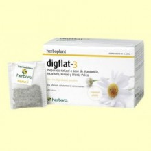 Digflat-3 Infusión - 20 filtros - Herbora