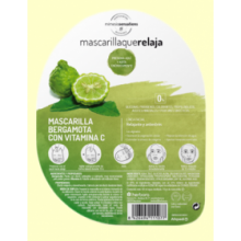 Mascarilla que relaja de Bergamota y Vitamina C - 40 ml - Herbora