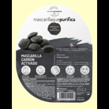 Mascarilla que purifica de Carbón Activado - 40 ml - Herbora