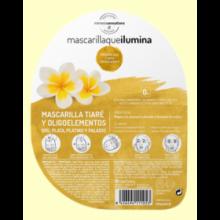 Mascarilla que Ilumina de Tiaré y Oligoelementos - 40 ml - Herbora
