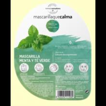 Mascarilla que calma de Menta y Té Verde - 40 ml - Herbora