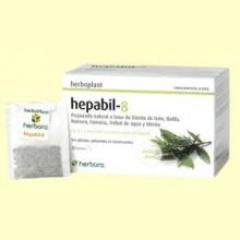 Hepabil-8 Infusión - 20 filtros - Herbora