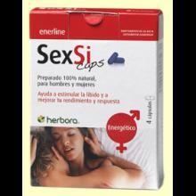 SexSi Caps - 4 cápsulas - Herbora