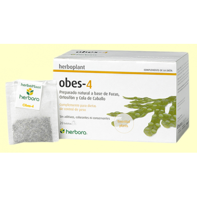Obes 4 Infusión - 20 filtros - Herbora