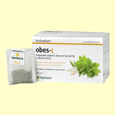 Obes-L Infusión - 20 filtros - Herbora