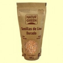 Lino Dorado Bio - 500 gramos - NaturGreen