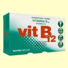 Vitamina B12 - 48 comprimidos - Soria Natural