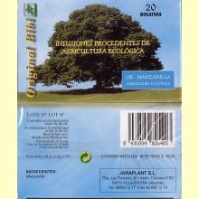 OB - Manzanilla Ecológica 20 bolsitas de ORIGINAL BIBI