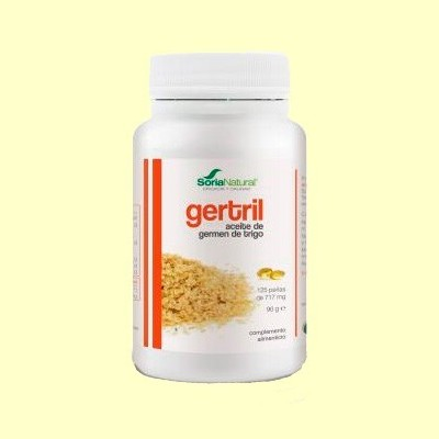 Gertril - Aceite de Germen de Trigo - 125 perlas - Soria Natural