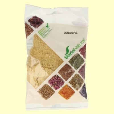 Jengibre - 75 gramos - Soria Natural