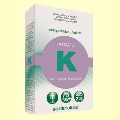 Potasio Retard - 20 comprimidos - Soria Natural
