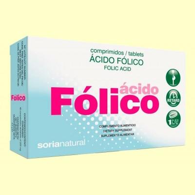 Ácido Fólico Retard - 48 comprimidos - Soria Natural