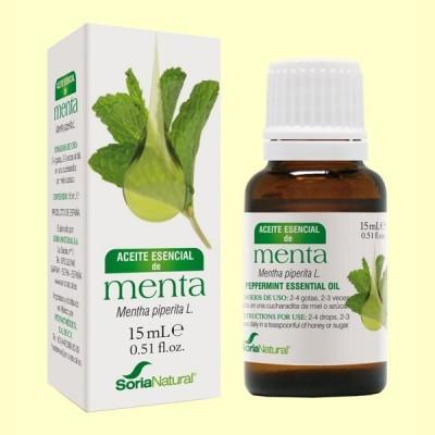 Aceite Esencial de Menta - 15 ml - Soria Natural