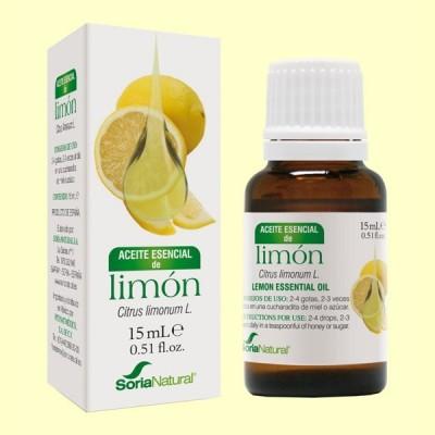 Aceite Esencial de Limón - 15 ml - Soria Natural