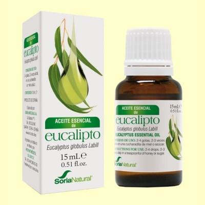 Aceite Esencial de Eucalipto - 15 ml - Soria Natural