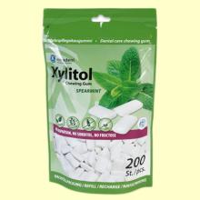 Xylitol Chicles Hierbabuena - 200 unidades - Miradent