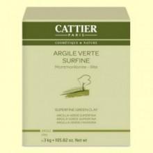 Arcilla Verde Superfina - 3 kg - Cattier