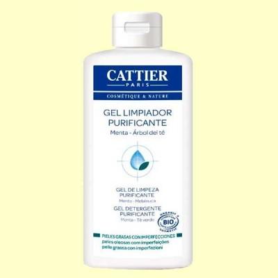 Gel Limpiador Purificante Piel Grasa Bio - Pieles jóvenes - 200 ml - Cattier