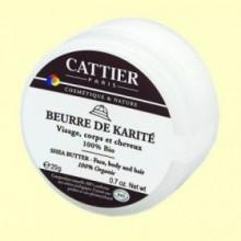 Manteca de Karité Bio - 20 gramos - Cattier