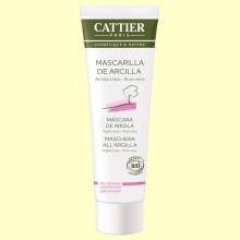 Mascarilla Arcilla Rosa Bio - Pieles Sensibles - 100 ml - Cattier