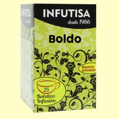 Boldo Infusión - 25 bolsitas - Infutisa