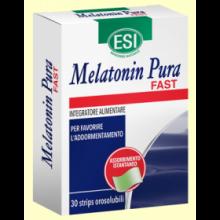 Melatonin Pura Fast 1 mg - Melatonina - 30 Strips - Laboratorios Esi