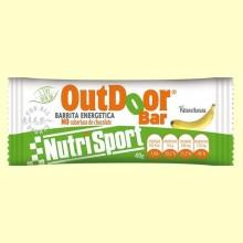 OutDoor Bar - Sabor plátano - 20 unidades - Nutrisport