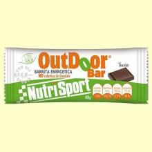 OutDoor Bar - Sabor chocolate - 20 unidades - Nutrisport