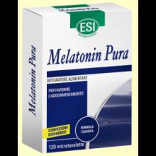 Melatonin Pura 1 mg - Melatonina - 120 microtabletas - Laboratorios Esi
