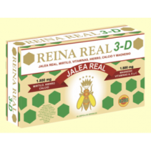 Reina Real 3D - Jalea Real - 20 ampollas - Robis