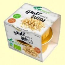 Paté Vegetal de Quinoa Bio - 100 gramos - Soria Natural
