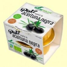Paté Vegetal de Aceituna Negra Bio - 100 gramos - Soria Natural