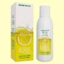 Auris Lemon - Licor de Limón - 60 ml - Soria Natural
