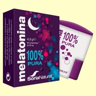 Melatonina - 90 comprimidos - Soria Natural